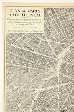 Oversized Map of Paris - 849599