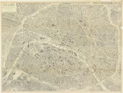 Oversized Map of Paris - 850460