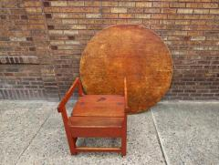 Oversized Round Chair Table - 667847