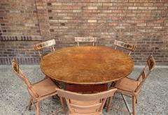 Oversized Round Chair Table - 667848