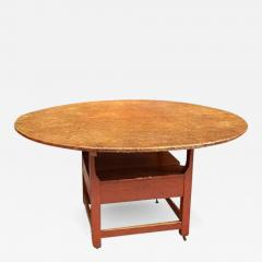 Oversized Round Chair Table - 668576