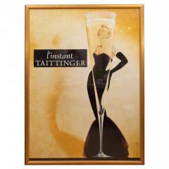 Oversized l instant taittinger Champagne Poster - 1098493
