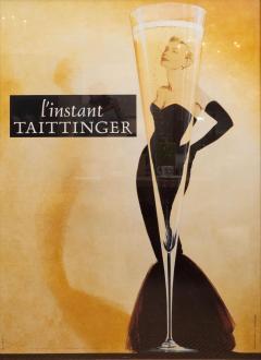 Oversized l instant taittinger Champagne Poster - 1099203