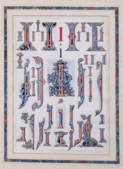 Owen Jones Owen Jones Initial Letters I Alphabet 1864 - 1566769