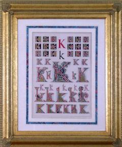 Owen Jones Owen Jones Initial Letters K Alphabet 1864 - 1566781