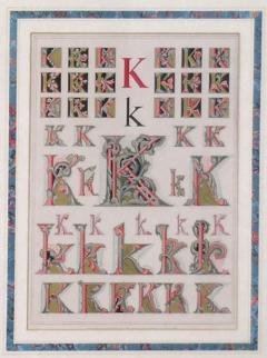 Owen Jones Owen Jones Initial Letters K Alphabet 1864 - 1566782