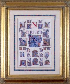 Owen Jones Owen Jones Initial Letters N Alphabet 1864 - 1566794