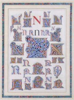 Owen Jones Owen Jones Initial Letters N Alphabet 1864 - 1566795