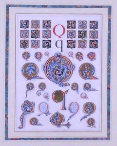 Owen Jones Owen Jones Initial Letters Q Alphabet 1864 - 1566604