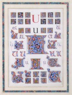 Owen Jones Owen Jones Initial Letters U Alphabet 1864 - 1566809