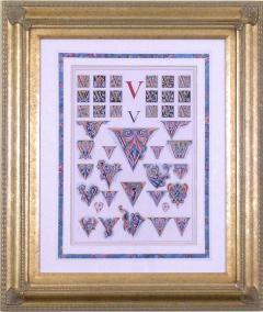 Owen Jones Owen Jones Initial Letters V Alphabet 1864 - 1566831
