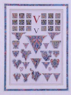 Owen Jones Owen Jones Initial Letters V Alphabet 1864 - 1566832