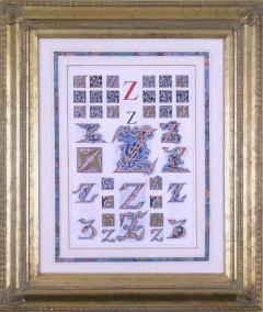 Owen Jones Owen Jones Initial Letters Z Alphabet 1864 - 1566766