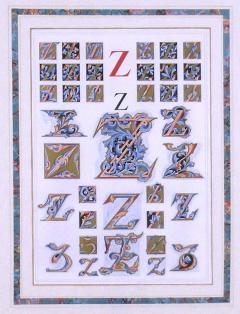 Owen Jones Owen Jones Initial Letters Z Alphabet 1864 - 1566767