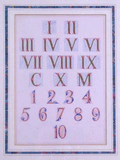 Owen Jones Owen Jones Roman and Arabic Numerals Numbers 1864 - 1566856