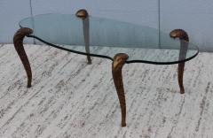 P E Guerin P E Guerin Style Gilt Legs Coffee Table - 766639