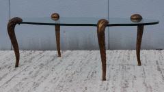 P E Guerin P E Guerin Style Gilt Legs Coffee Table - 766640