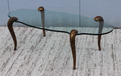 P E Guerin P E Guerin Style Gilt Legs Coffee Table - 766642
