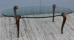 P E Guerin P E Guerin Style Gilt Legs Coffee Table - 766646