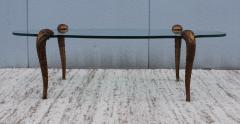 P E Guerin P E Guerin Style Gilt Legs Coffee Table - 766647