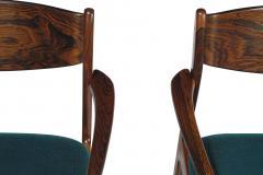 P E Jorgensen P E Jorgensen Rosewood Dining Armchairs - 1086447
