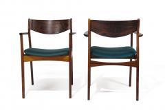 P E Jorgensen P E Jorgensen Rosewood Dining Armchairs - 1086451