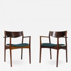 P E Jorgensen P E Jorgensen Rosewood Dining Armchairs - 1088084