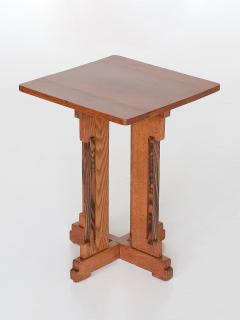 P E L Izeren P E L Izeren Art Deco Side Table in Oak and Macassar Genneper Molen 1930 - 1460312