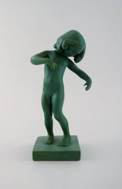 P Ipsen Jade green girl no 888 Venus Kalipygos - 1385935