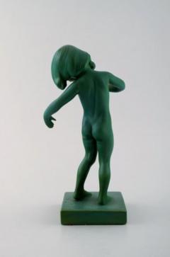 P Ipsen Jade green girl no 888 Venus Kalipygos - 1385938
