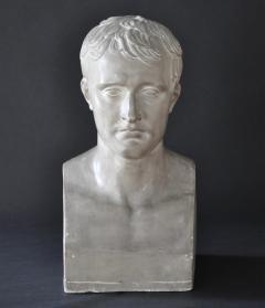 P P Caproni Brother A Plaster Bust Napoleon Bonaparte - 555872