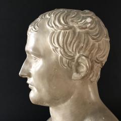 P P Caproni Brother A Plaster Bust Napoleon Bonaparte - 555873