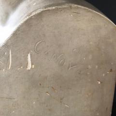 P P Caproni Brother A Plaster Bust Napoleon Bonaparte - 555874