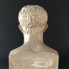 P P Caproni Brother A Plaster Bust Napoleon Bonaparte - 555875