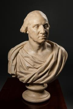 P P Caproni Brother Bust of George Washington after Houdon - 38615