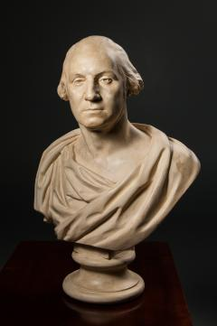 P P Caproni Brother Bust of George Washington after Houdon - 38616