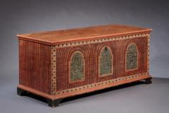 PAINTED DOWER CHEST - 1401116
