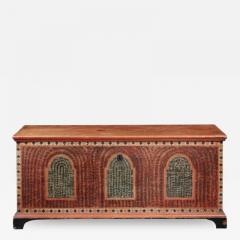 PAINTED DOWER CHEST - 1401119