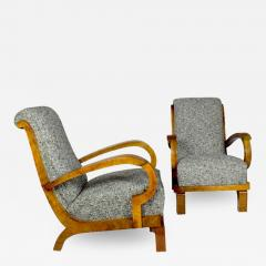 PAIR OF ART DECO ARMCHAIRS ITALY 1930 - 1628587