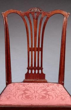 PAIR OF CARVED CHIPPENDALE SIDE CHAIRS - 1104175