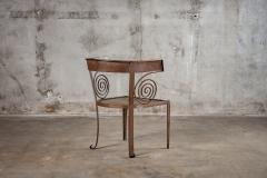 PAIR OF CUSTOM IRON CHAIRS - 1053184