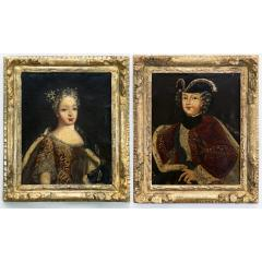 PAIR OF EARLY 18TH CENTURY ROYAL PORTRAITS - 1271923