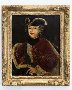 PAIR OF EARLY 18TH CENTURY ROYAL PORTRAITS - 1271928