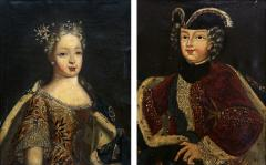 PAIR OF EARLY 18TH CENTURY ROYAL PORTRAITS - 1273287