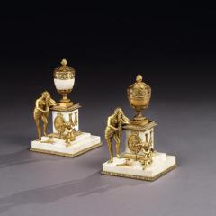 PAIR OF MATTHEW BOULTON VENUS PARFUMERIE VASES ENGLISH CIRCA 1775 - 2029128