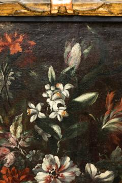 PAIR OF PAINTINGS OF FLOWERS SPANISH SCHOOL 18TH CENTURY - 1271306