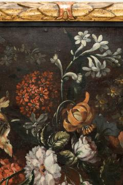 PAIR OF PAINTINGS OF FLOWERS SPANISH SCHOOL 18TH CENTURY - 1271307