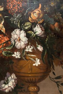PAIR OF PAINTINGS OF FLOWERS SPANISH SCHOOL 18TH CENTURY - 1271308