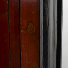 PAIR OF RED LACQUERED WEDDING CABINETS SHANXI PROVINCE C 1840 - 1988585