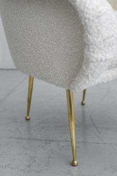 PAIR OF SALON SLIPPER CHAIRS - 1021102